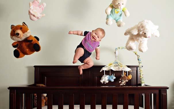 Μωρά που ανακάλυψαν την μαγεία της πτήσης (1)