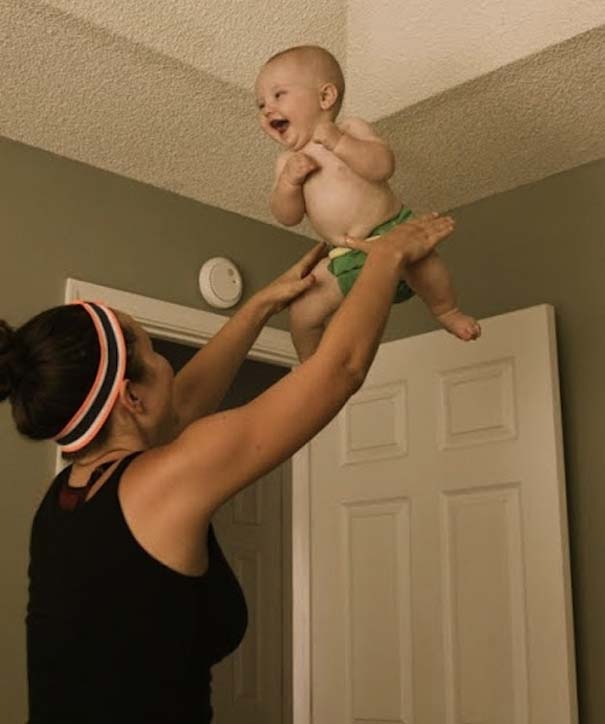 Μωρά που ανακάλυψαν την μαγεία της πτήσης (7)