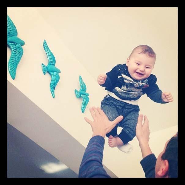 Μωρά που ανακάλυψαν την μαγεία της πτήσης (14)