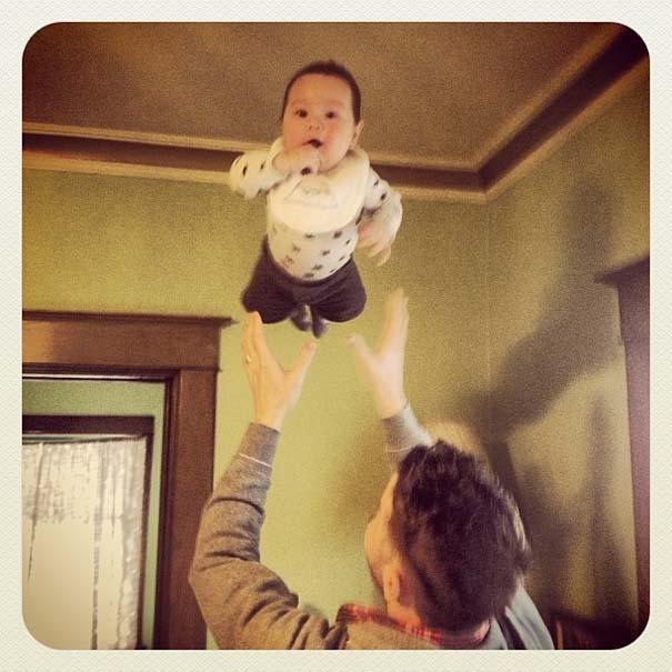 Μωρά που ανακάλυψαν την μαγεία της πτήσης (15)