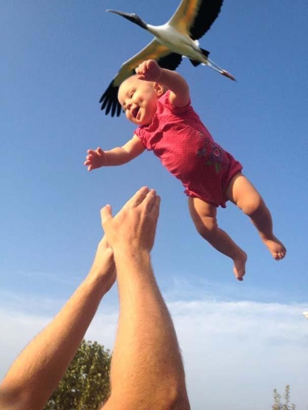 Μωρά που ανακάλυψαν την μαγεία της πτήσης (16)