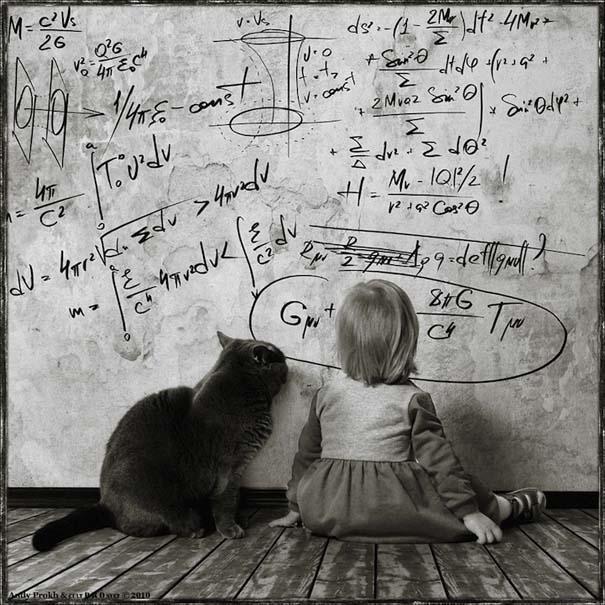 Η όμορφη φιλία ενός κοριτσιού και της γάτας της (6)