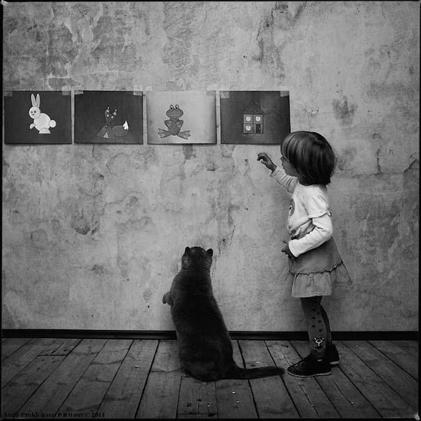 Η όμορφη φιλία ενός κοριτσιού και της γάτας της (10)
