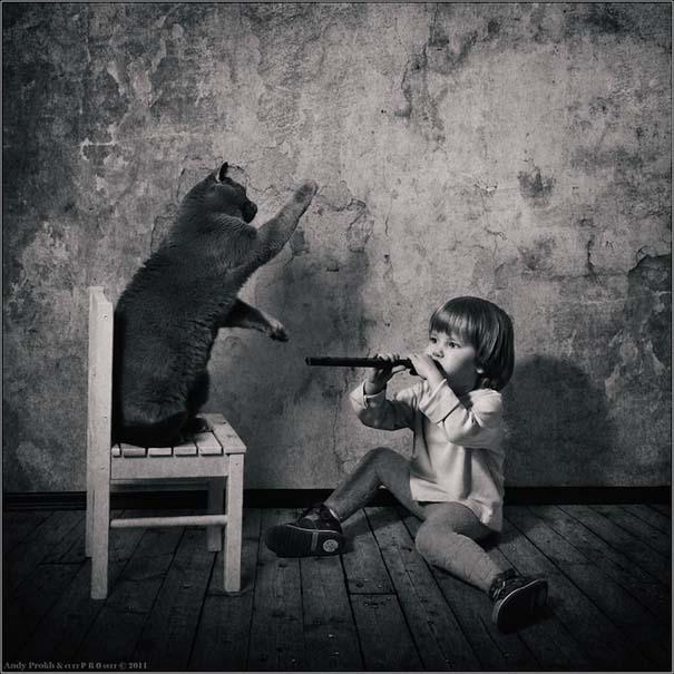 Η όμορφη φιλία ενός κοριτσιού και της γάτας της (15)