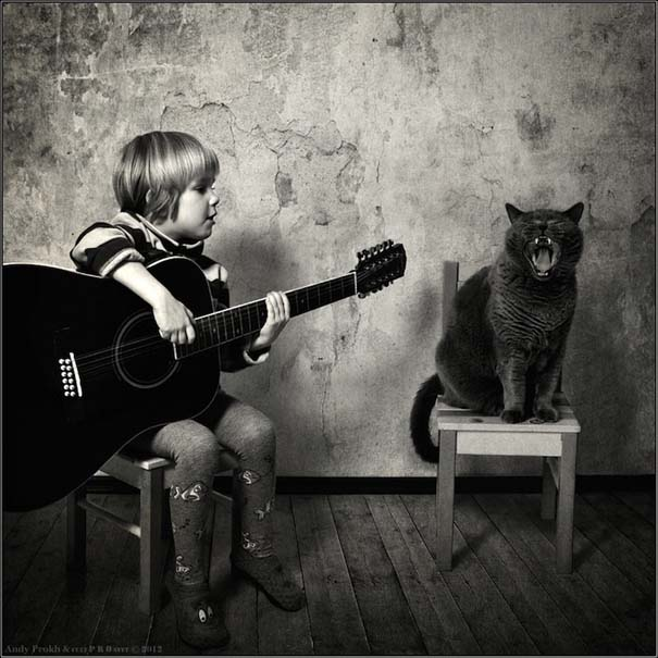 Η όμορφη φιλία ενός κοριτσιού και της γάτας της (16)