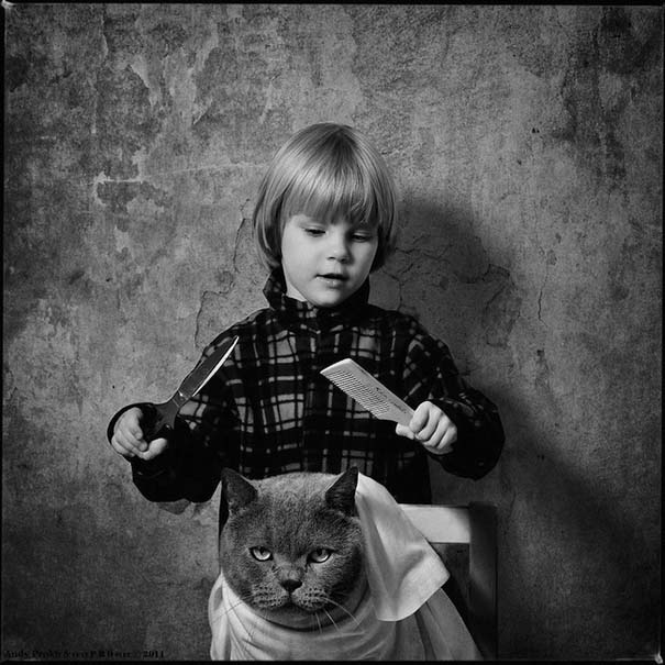 Η όμορφη φιλία ενός κοριτσιού και της γάτας της (17)