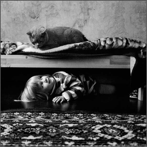 Η όμορφη φιλία ενός κοριτσιού και της γάτας της (18)