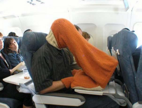 Αστεία & παράξενα περιστατικά στο αεροπλάνο (1)