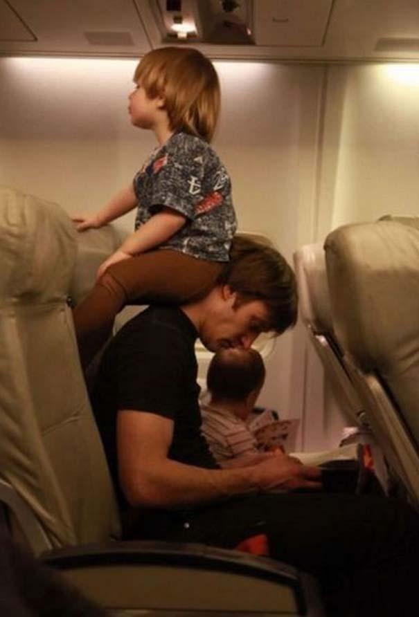 Αστεία & παράξενα περιστατικά στο αεροπλάνο (4)