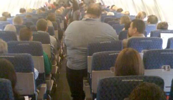 Αστεία & παράξενα περιστατικά στο αεροπλάνο (6)