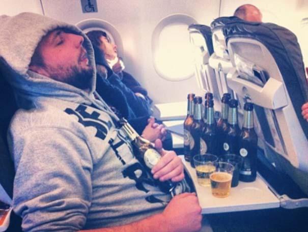 Αστεία & παράξενα περιστατικά στο αεροπλάνο (8)