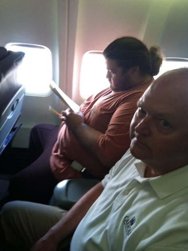 Αστεία & παράξενα περιστατικά στο αεροπλάνο (11)