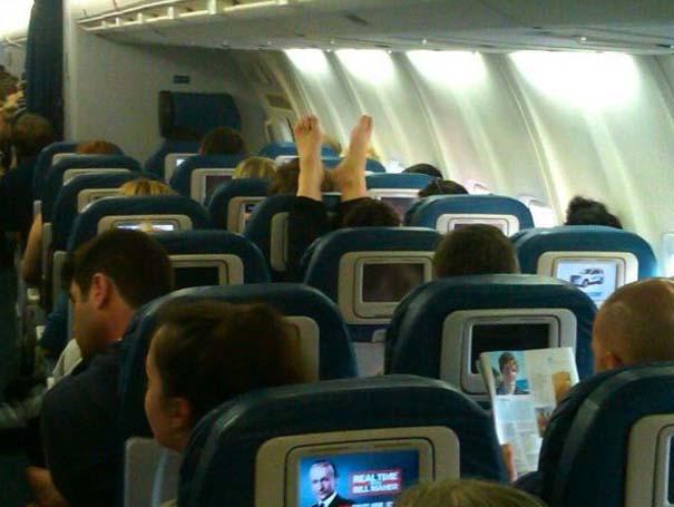 Αστεία & παράξενα περιστατικά στο αεροπλάνο (13)