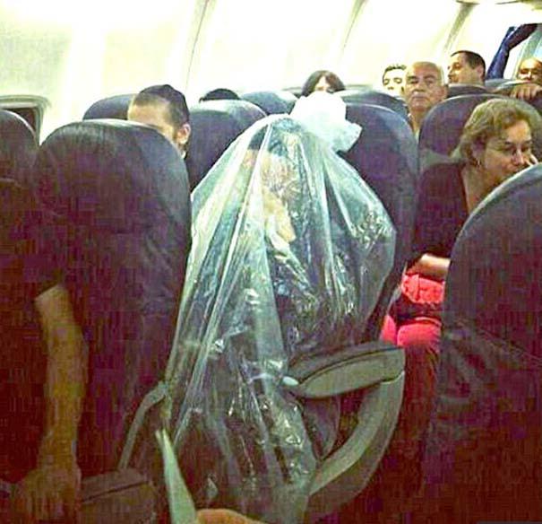 Αστεία & παράξενα περιστατικά στο αεροπλάνο (14)