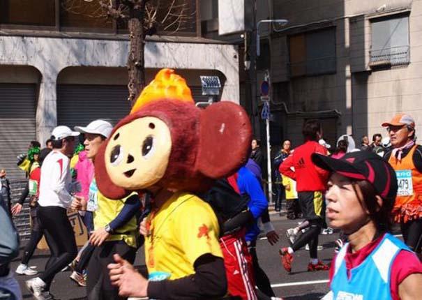 Τα παράξενα του μαραθωνίου του Τόκιο (8)