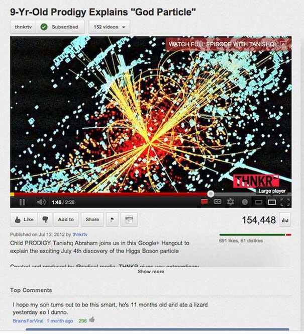 Παράξενα & ξεκαρδιστικά σχόλια στο YouTube (9)