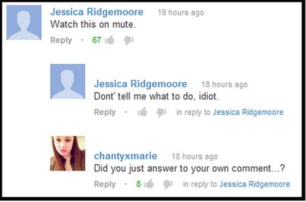 Παράξενα & ξεκαρδιστικά σχόλια στο YouTube (14)