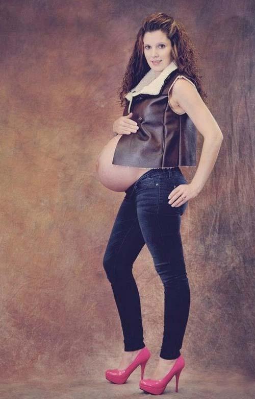 Οι 50 πιο περίεργες & άκυρες φωτογραφίες εγκυμοσύνης (16)