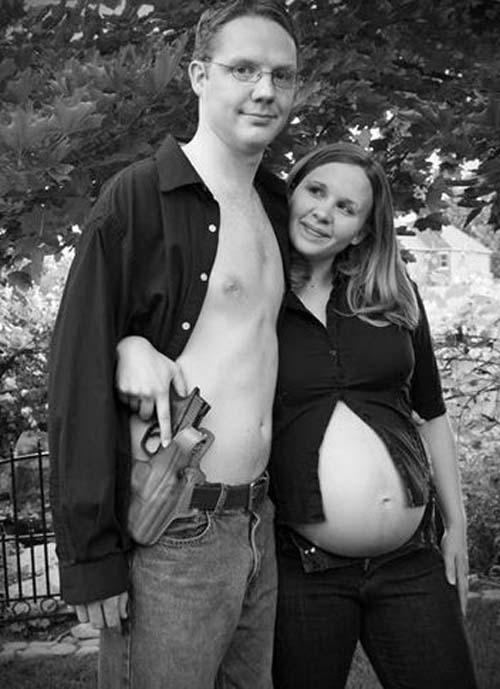 Οι 50 πιο περίεργες & άκυρες φωτογραφίες εγκυμοσύνης (17)