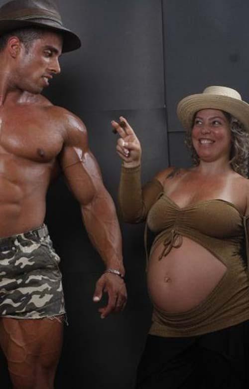 Οι 50 πιο περίεργες & άκυρες φωτογραφίες εγκυμοσύνης (19)