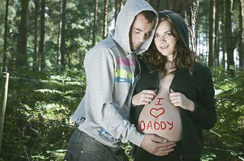 Οι 50 πιο περίεργες & άκυρες φωτογραφίες εγκυμοσύνης (22)