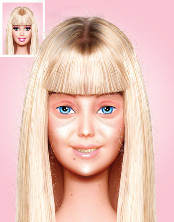 Η Barbie χωρίς make up   Φωτογραφία της ημέρας