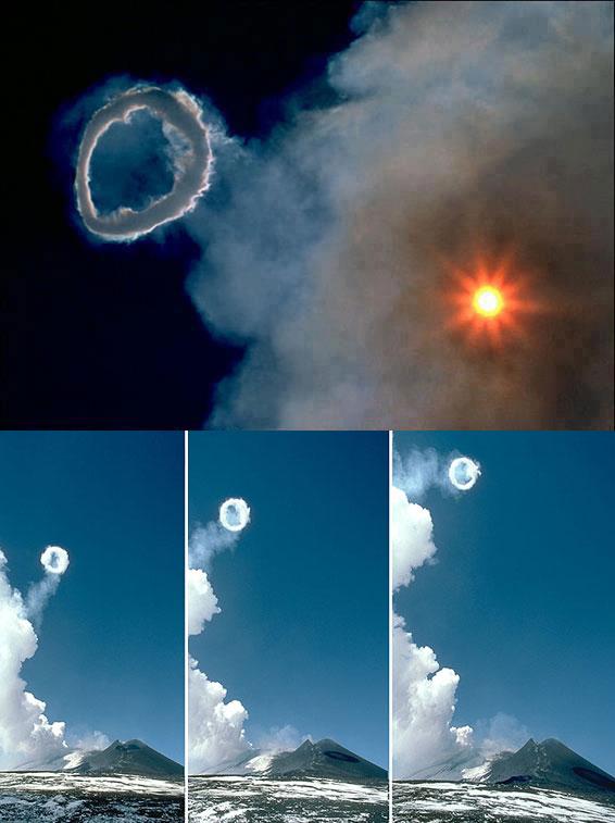 Το ηφαίστειο που βγάζει δαχτυλίδια καπνού | Φωτογραφία της ημέρας