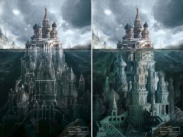Τι κρύβεται κάτω από διάσημα κτήρια της Ρωσίας (2)