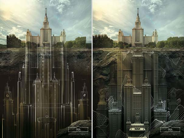 Τι κρύβεται κάτω από διάσημα κτήρια της Ρωσίας (4)
