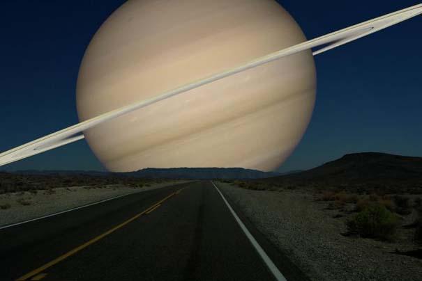 Πως θα φαίνονταν οι πλανήτες αν ήταν στη θέση της Σελήνης (6)