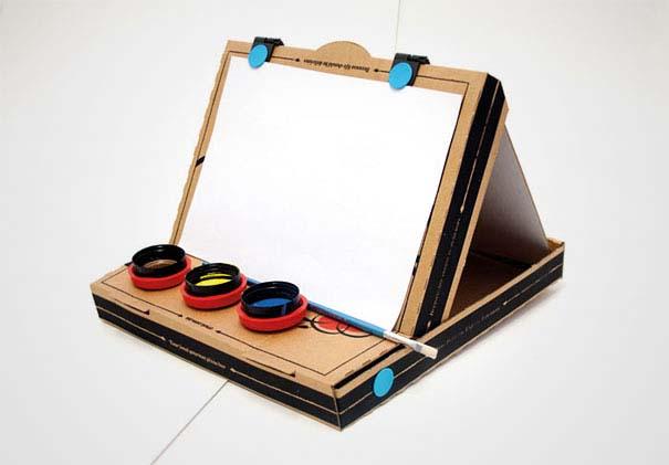 Πράγματα που μπορείτε να φτιάξετε με ένα κουτί πίτσας (14)