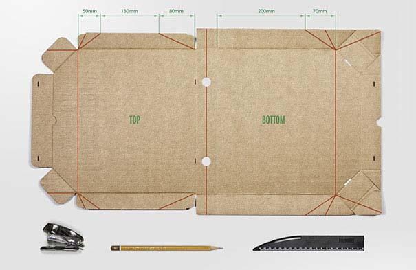 Πράγματα που μπορείτε να φτιάξετε με ένα κουτί πίτσας (2)
