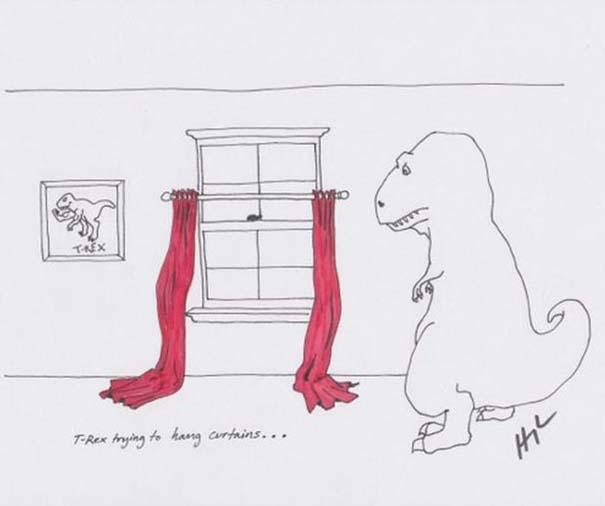 Οι προσπάθειες του T-Rex (1)