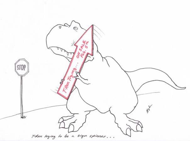 Οι προσπάθειες του T-Rex (4)