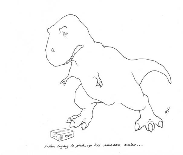 Οι προσπάθειες του T-Rex (5)