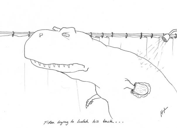 Οι προσπάθειες του T-Rex (7)