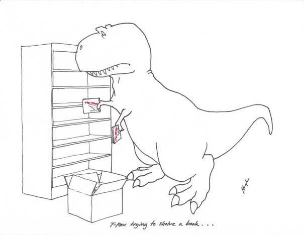 Οι προσπάθειες του T-Rex (9)