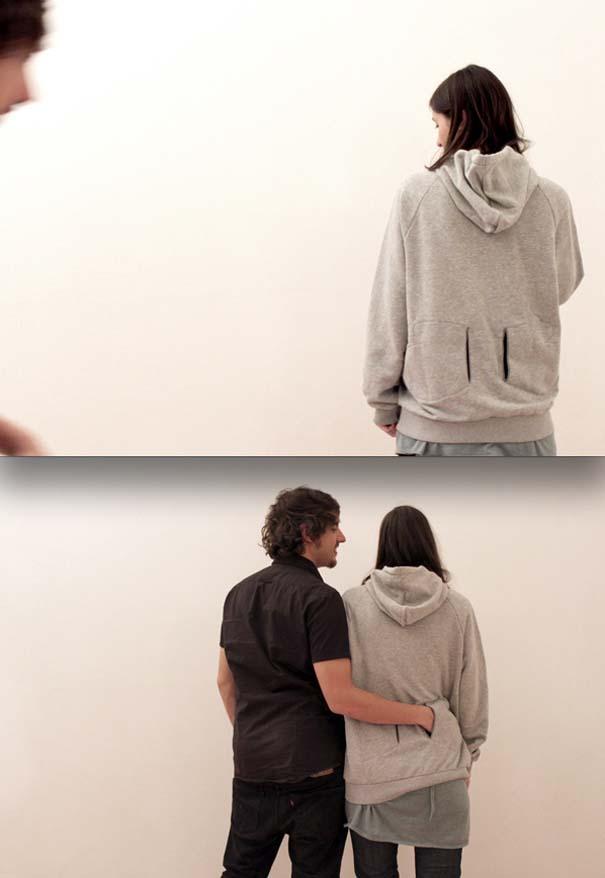25 αλλόκοτα ρούχα που φτιάχτηκαν για δύο (9)