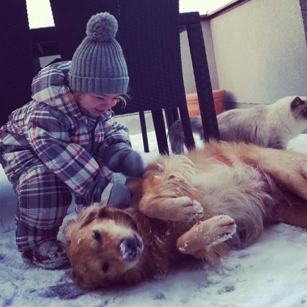Σκύλοι που θα έκαναν τα πάντα για τα παιδιά (14)
