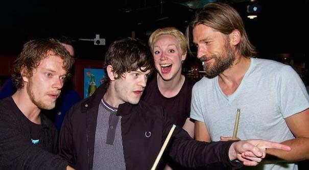 Οι σταρ του Game Of Thrones σε στιγμές καθημερινής τρέλας (10)