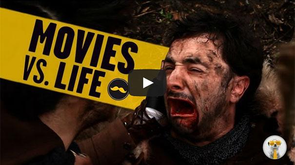 Ταινίες vs Πραγματική ζωή