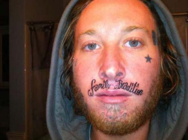 Τατουάζ που θα μετανιώνουν για μια ζωή... (12)