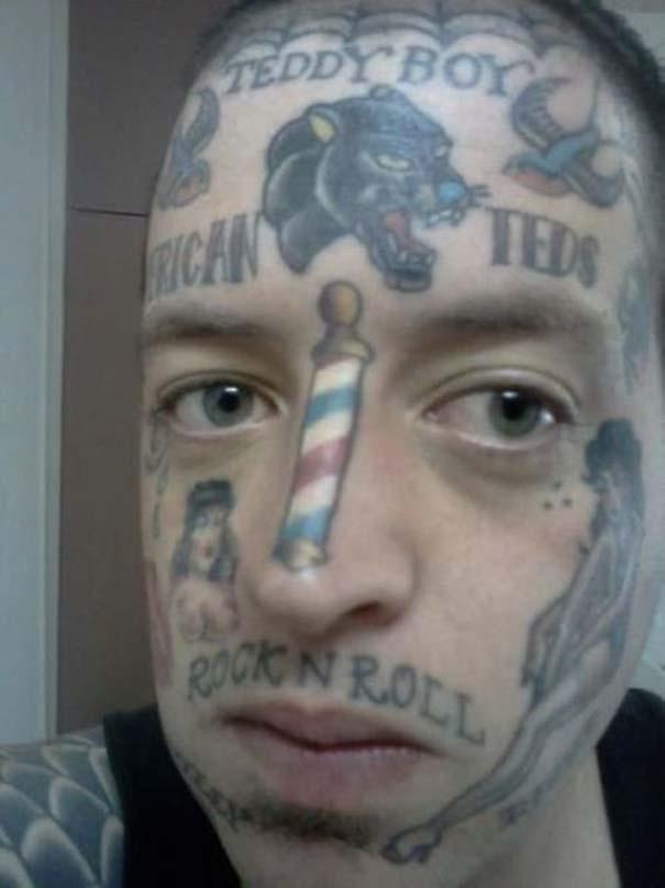 Τατουάζ που θα μετανιώνουν για μια ζωή... (28)