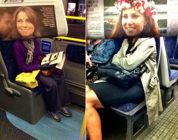 Δείτε τι σκαρφίστηκε επιβάτης που βαριόταν στα μέσα μεταφοράς (2)