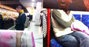 Δείτε τι σκαρφίστηκε επιβάτης που βαριόταν στα μέσα μεταφοράς