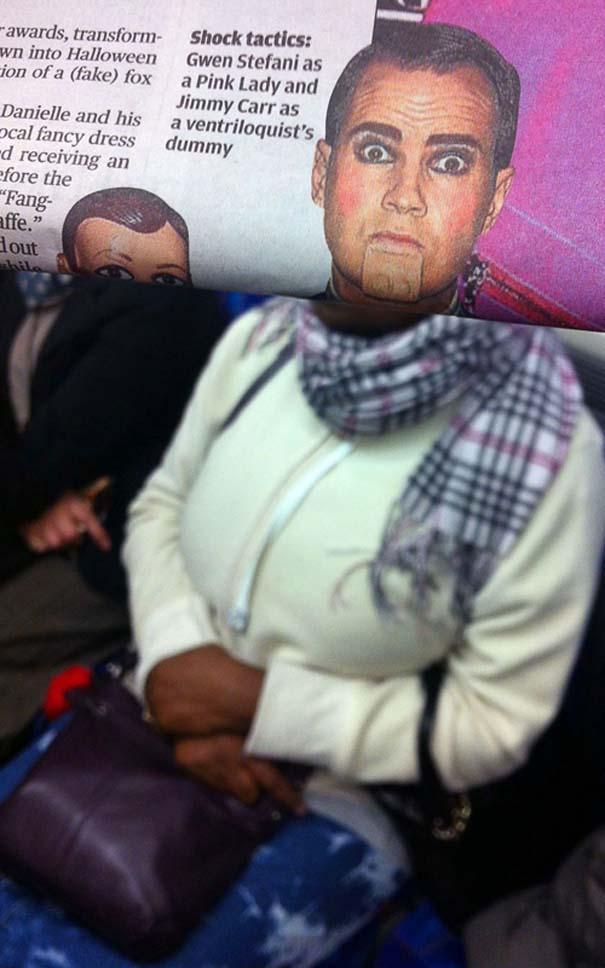 Δείτε τι σκαρφίστηκε επιβάτης που βαριόταν στα μέσα μεταφοράς (24)