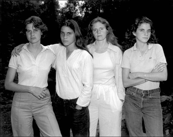 4 αδερφές φωτογραφίζονται μαζί κάθε χρόνο από το 1975 (1)