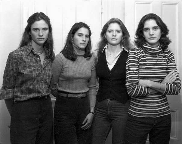 4 αδερφές φωτογραφίζονται μαζί κάθε χρόνο από το 1975 (3)