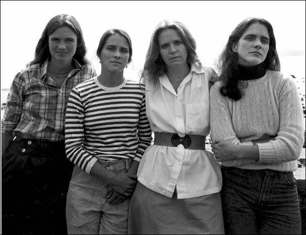 4 αδερφές φωτογραφίζονται μαζί κάθε χρόνο από το 1975 (5)