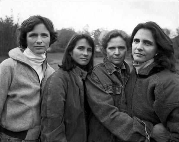 4 αδερφές φωτογραφίζονται μαζί κάθε χρόνο από το 1975 (16)
